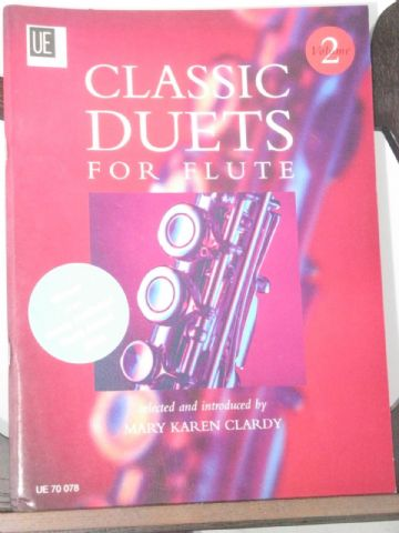 Classic Duets for Flute ed Clardy M K